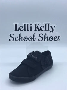 LELLI KELLY LK8199 LILY BLACK BOW CANVAS TRAINER