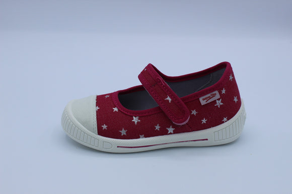 SUPERFIT BULLY PINK MARY JANE CANVAS SHOE