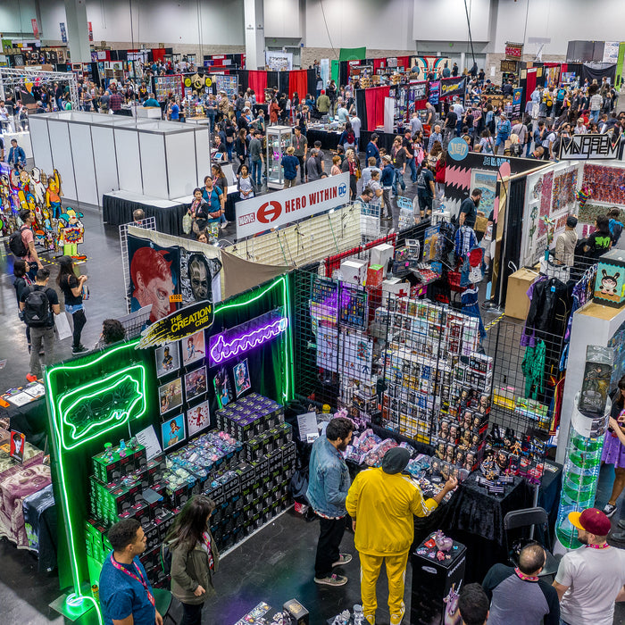 DesignerCon 2018 Vendors Photo From DesignerCon