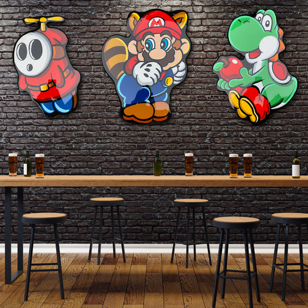 Bar Area Decor