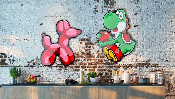 Ballon Friend and Yoshi Kitchen