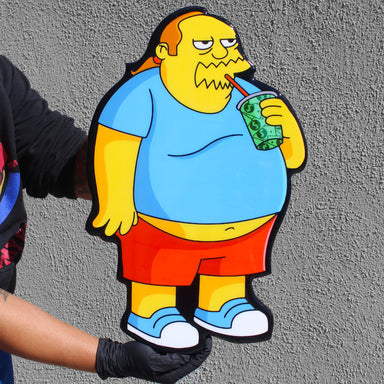 Comic Book Guy | Wall Art