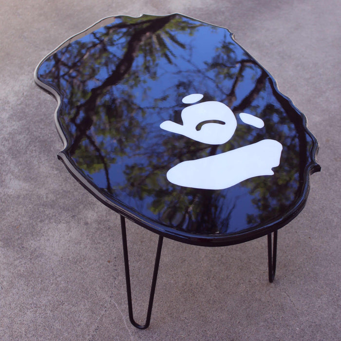 CLASSIC BLACK BAPE | TABLE IDIOT BOX ARTWORK