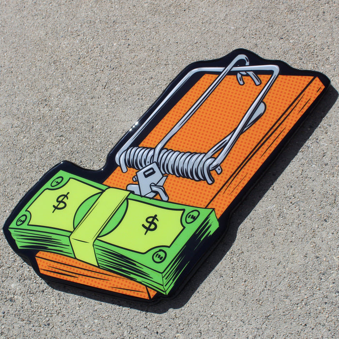 Money Trap | Wall Art