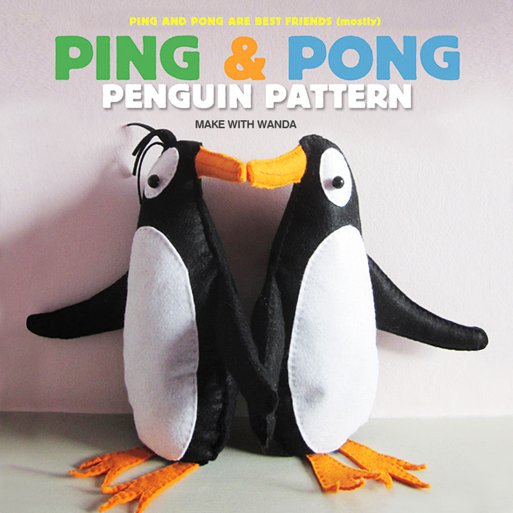 ping and pong make with Wanda