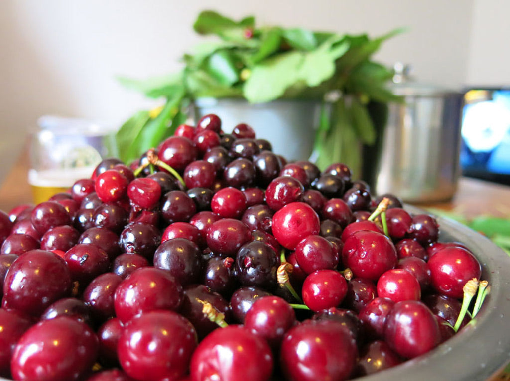 bowl of cherries just waiting to be stoneless