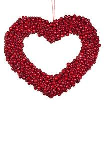 Red berry heart by Sia