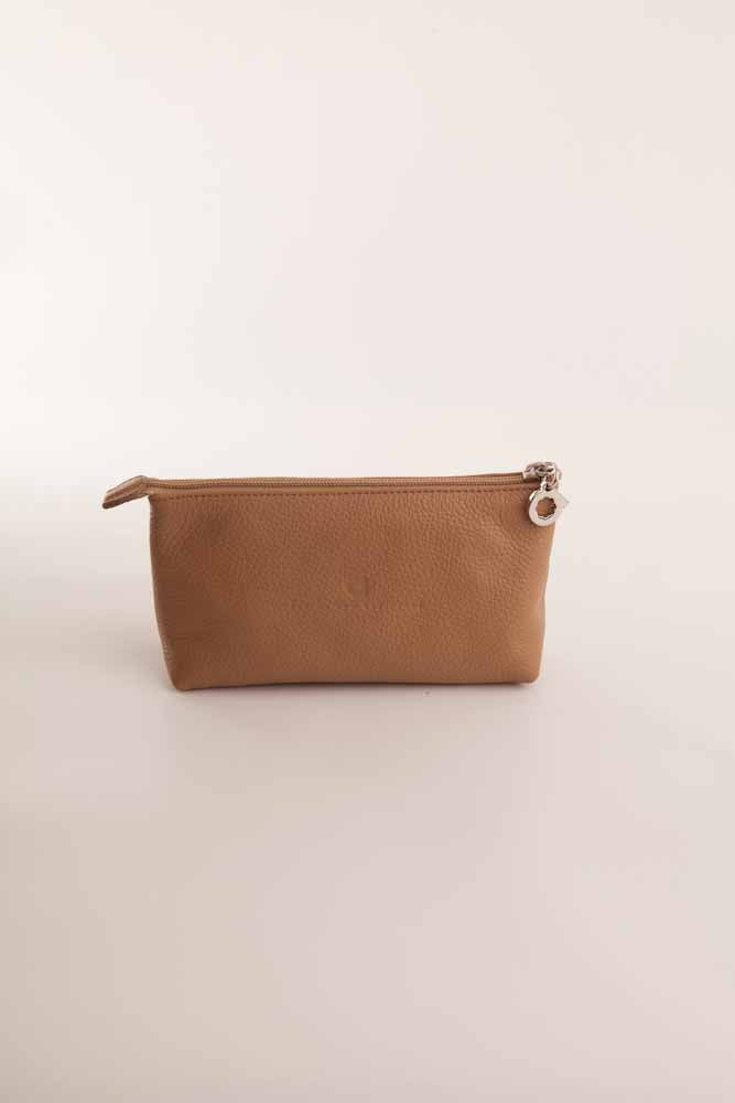 Alison Van Der Lande Make Up Bag - Beige - Blissimi Beauty LLP