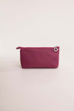 Alison Van Der Lande Make Up Bag - Crimson - Blissimi Beauty LLP