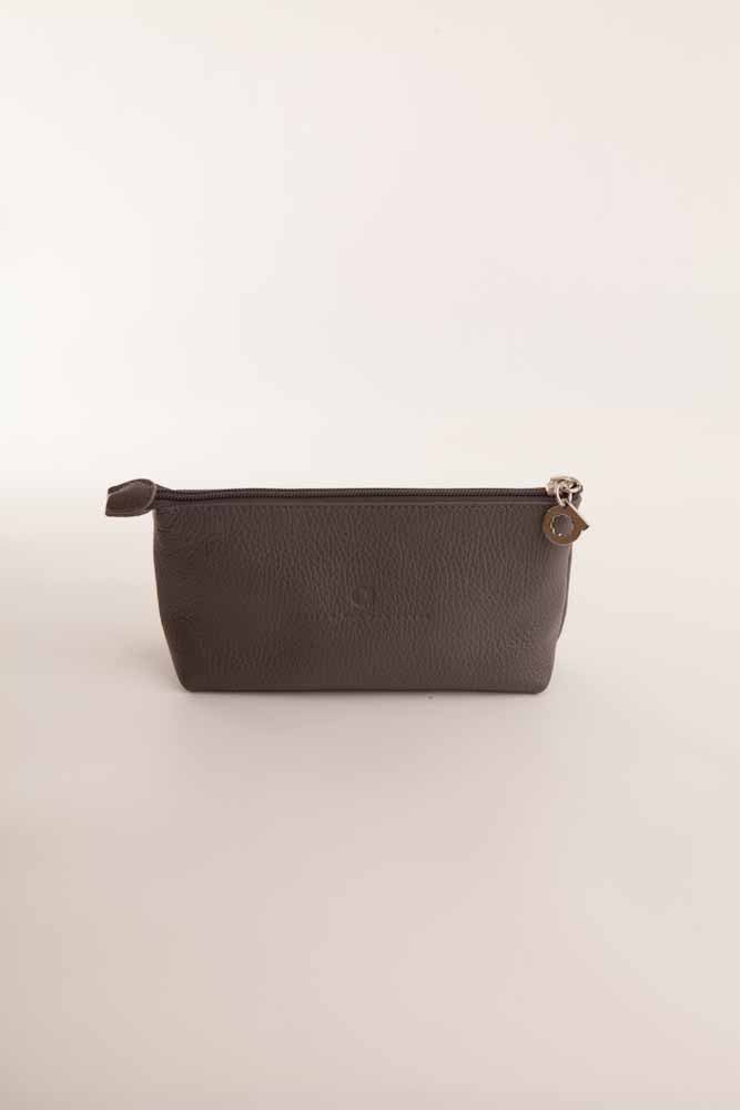 Alison Van Der Lande Make Up Bag - Dark Grey - Blissimi Beauty LLP