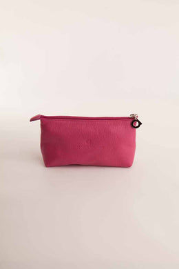 Alison Van Der Lande Make Up Bag - Fuchsia - Blissimi Beauty LLP