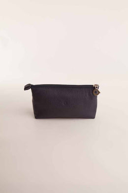 Alison Van Der Lande Make Up Bag - Navy - Blissimi Beauty LLP