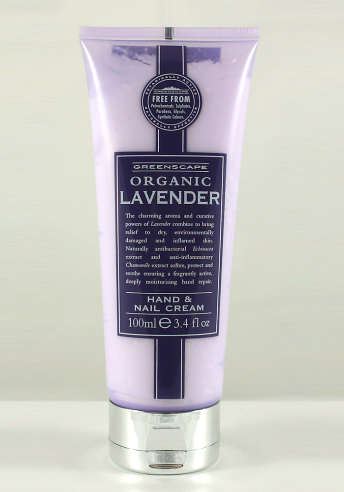 Greenscape Organic Lavender Hand & Nail Cream 100ml - Blissimi Beauty LLP