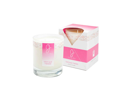 J by JWL Collection - Vintage Tweed Candle 240g - Blissimi Beauty LLP