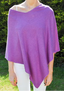 Santali Cosi 100% Cashmere Poncho (Multiple Colours)