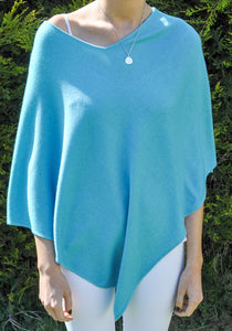 Santali Cosi Cashmere (70%)/Silk (30%) Poncho (Multiple Colours)