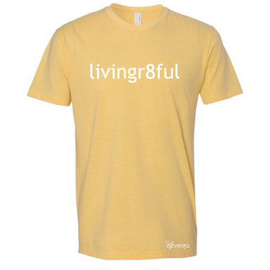 Livingr8ful Yellow T-Shirt
