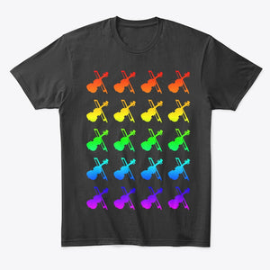 Violin Pride T-Shirt: The Shirtless Violinist