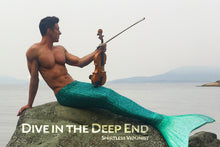 "Load image into Gallery viewer, ""Merman"" Poster"
