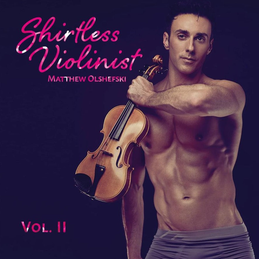 Shirtless Violinist Vol. 2 CD