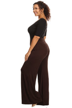 Load image into Gallery viewer, Plus Size Women's Palazzo Pants Hight Waisted Made in the USA