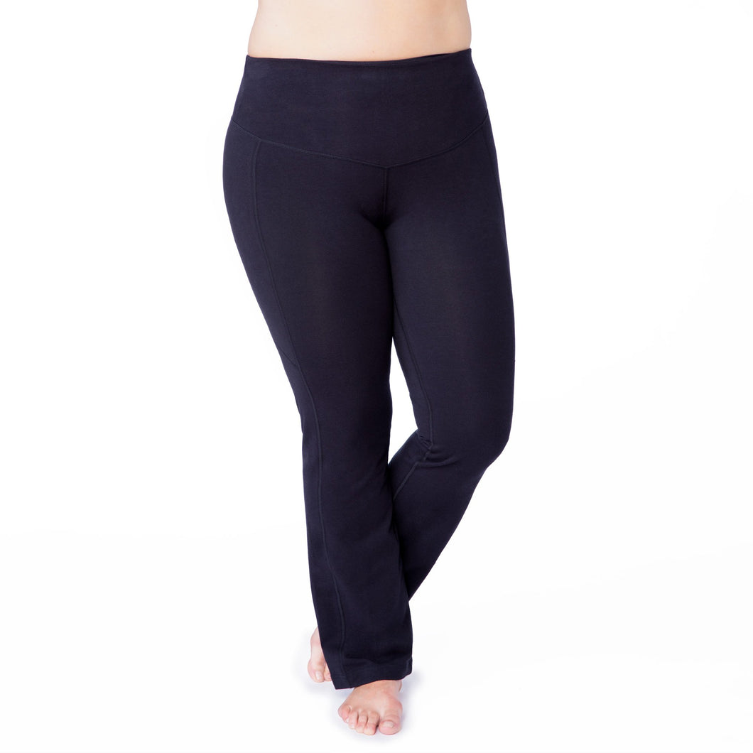 Women's Plus Size Bootcut Compression Leggings