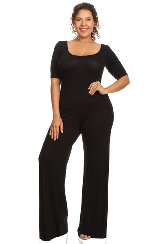 Plus Size Women's Palazzo Pants Hight Waisted Made in the USA