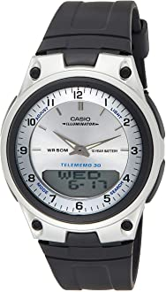 Casio Men's AW80-7AV Forester Ana-Digi Databank Watch - RIBI Malta