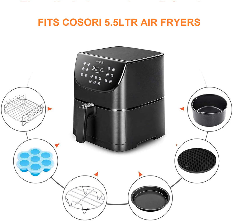Cosori Air Fryer Accessories for 5.5Ltr Air Fryers - RIBI Malta