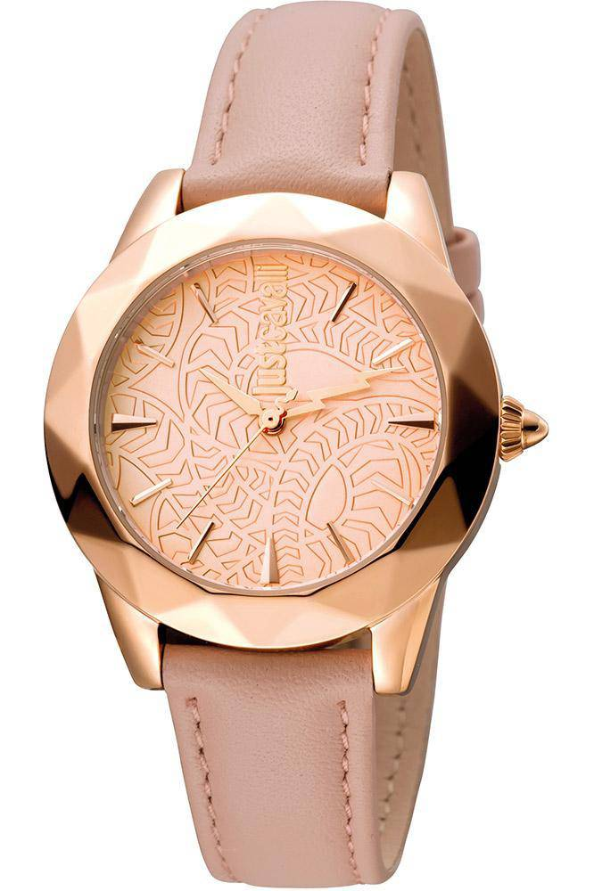Just Cavalli Women's Rock WristWatch with Leather strap - RIBI Malta