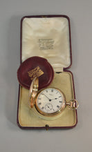Load image into Gallery viewer, WALTHAM 9CT GOLD GENTLEMAN'S POCKET WATCH