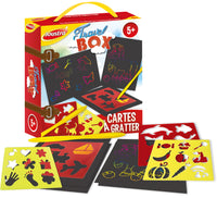 Set da viaggio - Scratch art - 41504
