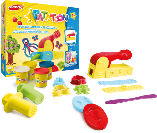 Set Patatoon 4  vasetti + 12 accessori  inclusa macchina