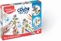 Maped - Colora e Gioca - Puzzle Mix&Match