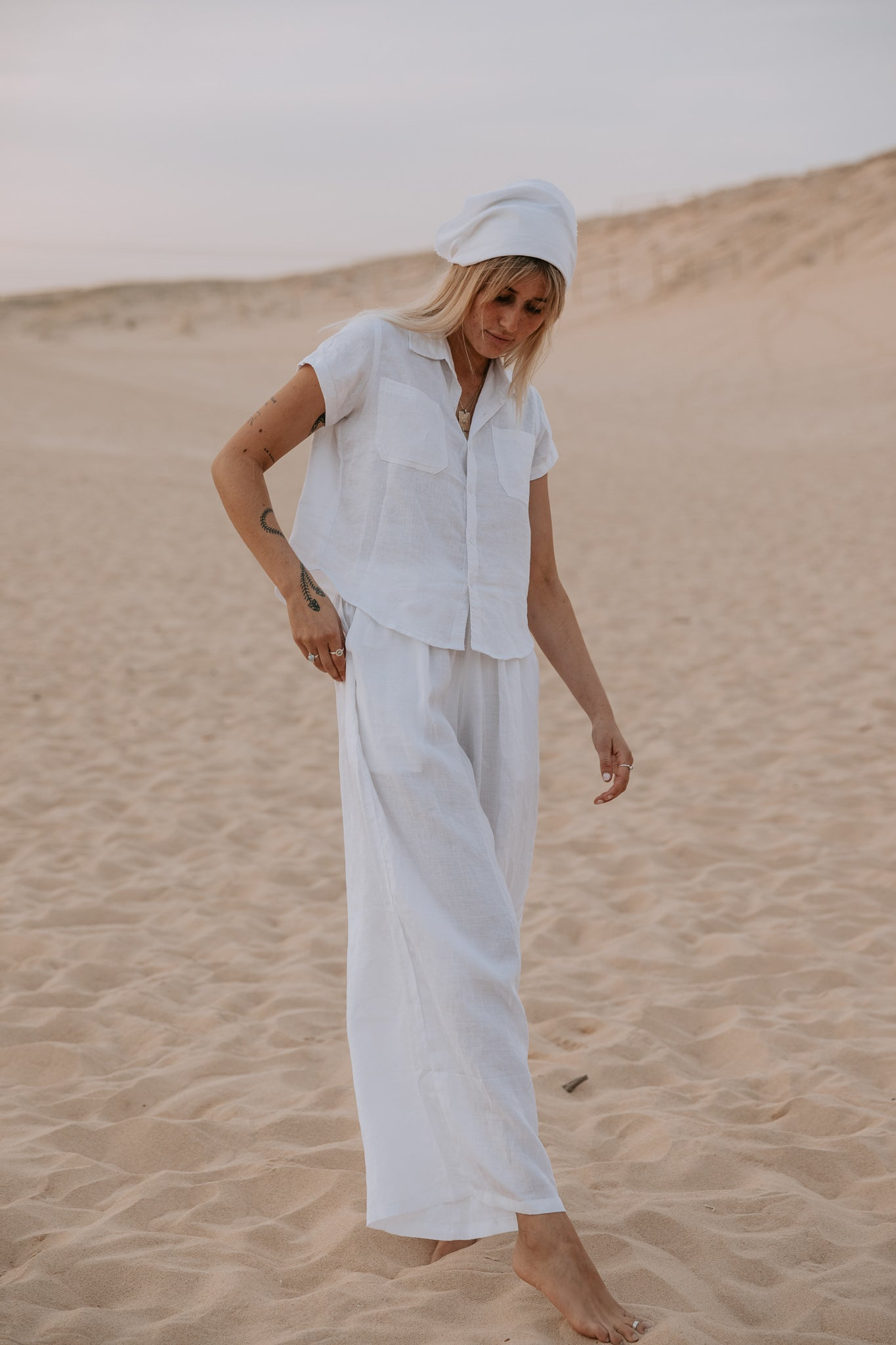 The Bodhi Blouse in Crisp White