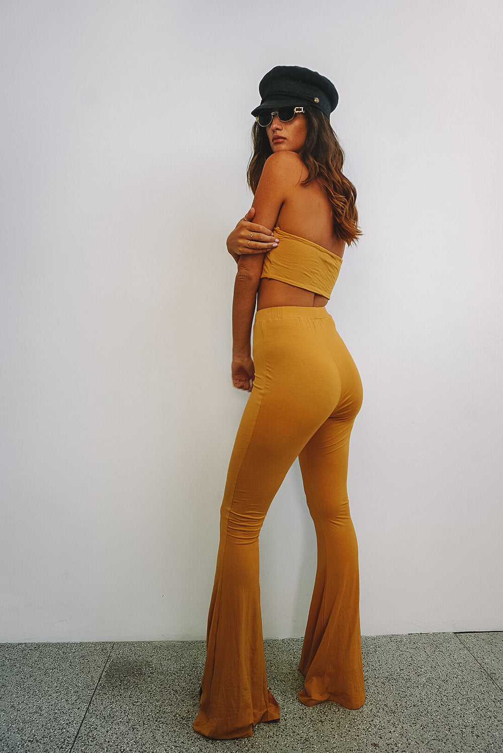 Wild Child Bell Bottoms // Chinese Yellow