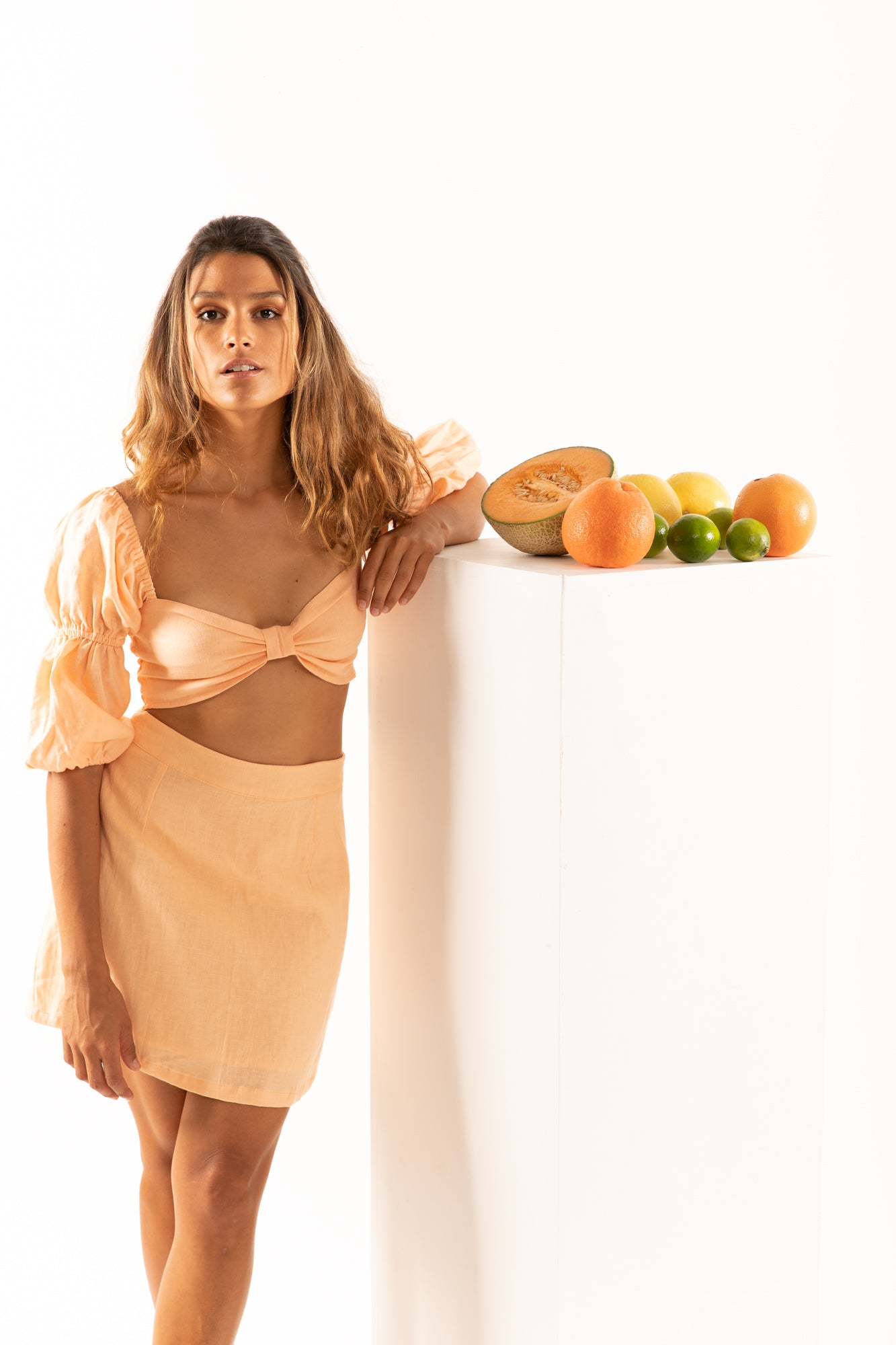 The Peasant Top in Grapefruit