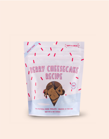 Berry Cheesecake Soft & Chewy Treats - PetProductDelivery.com