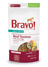 Bag-O-Chews Dry Roasted Beef Trachea for dogs