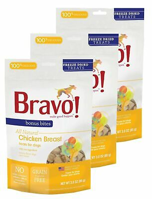 Bonus Bites Freeze Dried Chicken Breast treats for dogs - PetProductDelivery.com