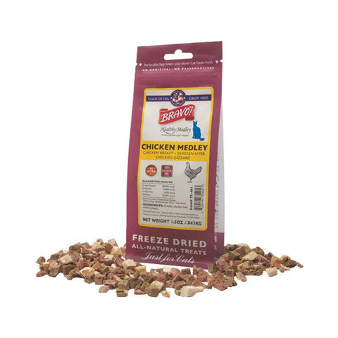 Healthy Medleys Chicken Medley Treats for cats - PetProductDelivery.com