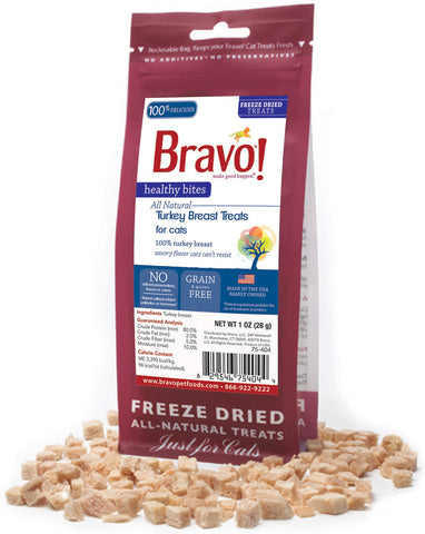 Healthy Bites Turkey Breast Treats for cats