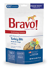 Training Treats Freeze Dried Turkey Bits for dogs