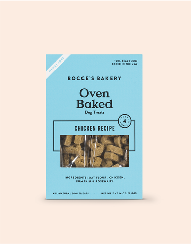 Oven Baked Dog Treats Chicken Recipe - PetProductDelivery.com