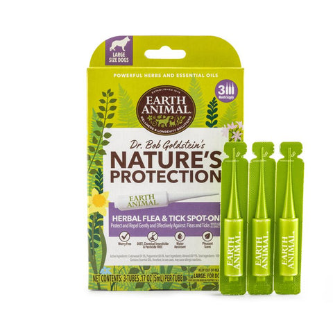 Nature's Protection Flea & Tick Herbal Spot-On For Dogs - PetProductDelivery.com