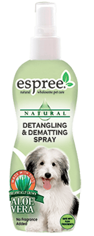 Detangling and Dematting Spray