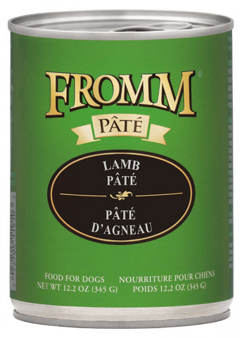Lamb & Sweet Potato Pate 12.2oz. cans for dogs / case of 12