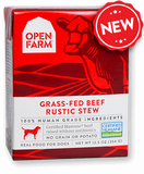 Grass-fed Beef Rustic Stew 12.5oz. tetra paks / case of 12 - PetProductDelivery.com