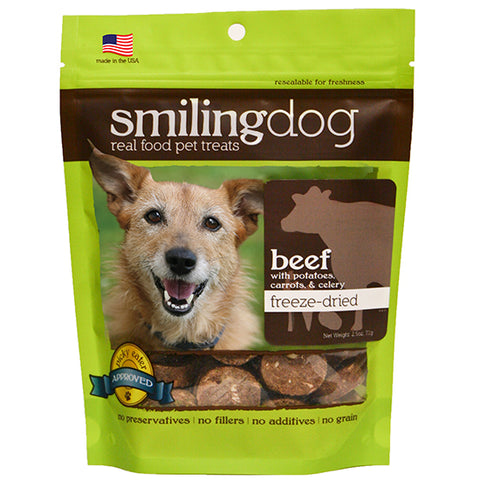 Smiling Dog Freeze-Dried Beef with Potatoes, Carrots & Celery