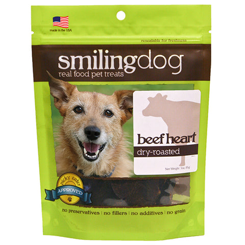 Smiling Dog Dry-Roasted Beef Heart